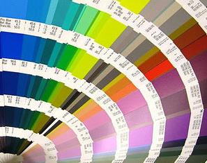 La opción de elegir muchos colores