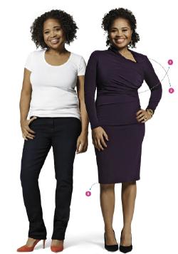 vestirse sobre peso, kilos de mas