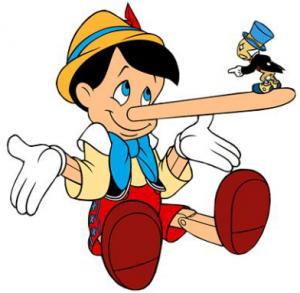 decir mentiras a tu pareja