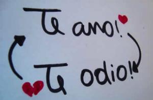 te amo y te odio bien